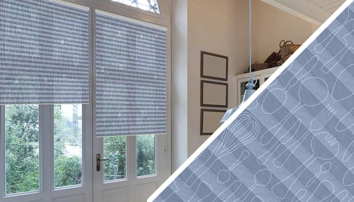 plissee mit muster blumen streifen uni. Black Bedroom Furniture Sets. Home Design Ideas