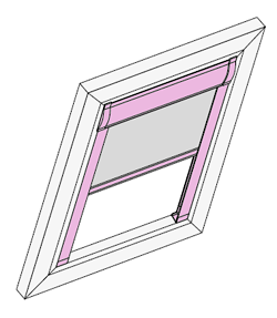 Dachfenster Rollo Comfort
