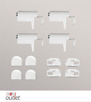 rollo ersatzteile zubeh r klemmtr ger rollo. Black Bedroom Furniture Sets. Home Design Ideas