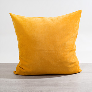 Fröhliche Kissen In Gelb Bei Wohntextiliende