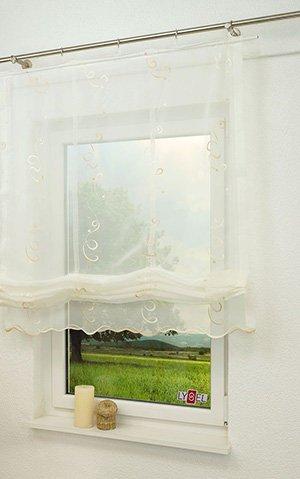 Raffrollo im Kinderzimmer - bunte Stoffe für gute Laune am Fenster