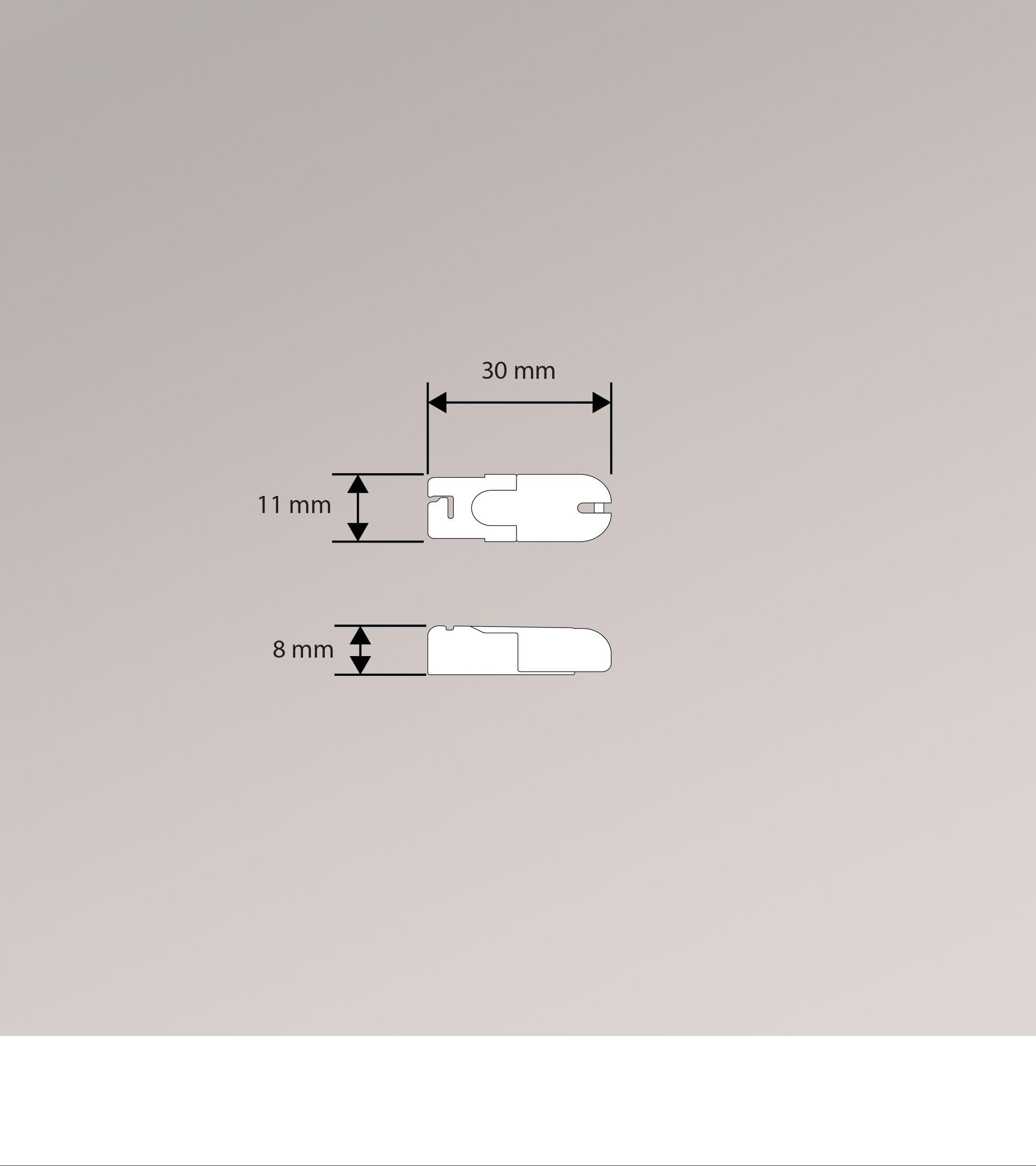 cosiflor klemmtrger fabulous trendy x klemmtrger plissee with befestigung plissee with cosiflor. Black Bedroom Furniture Sets. Home Design Ideas